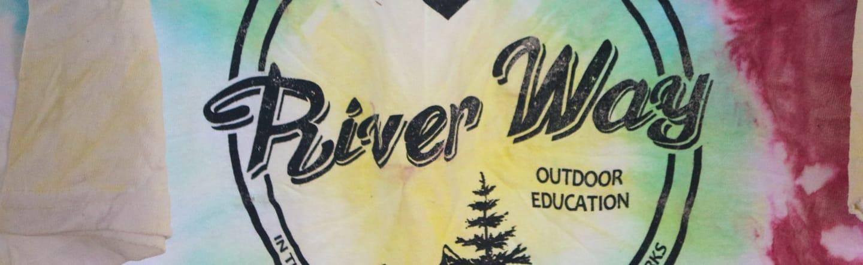 river way tie dye tshirt