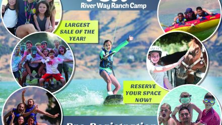preregistration flyer for river way ranch camp
